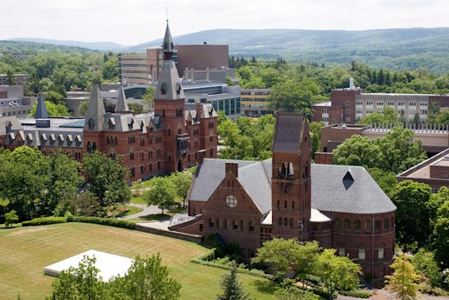 The alleged assault was the second racially charged incident to roil Cornell University in less than two weeks.