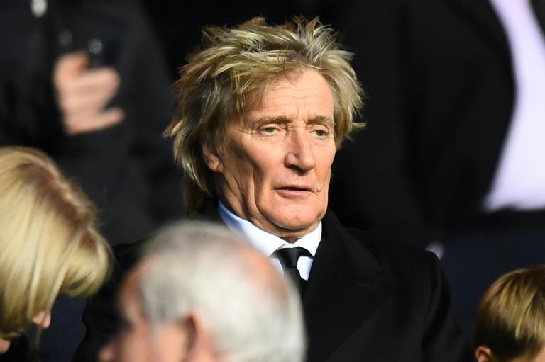 Rod Stewart built an intricate cityscape, which he named 'Grand Street and Three Rivers City'