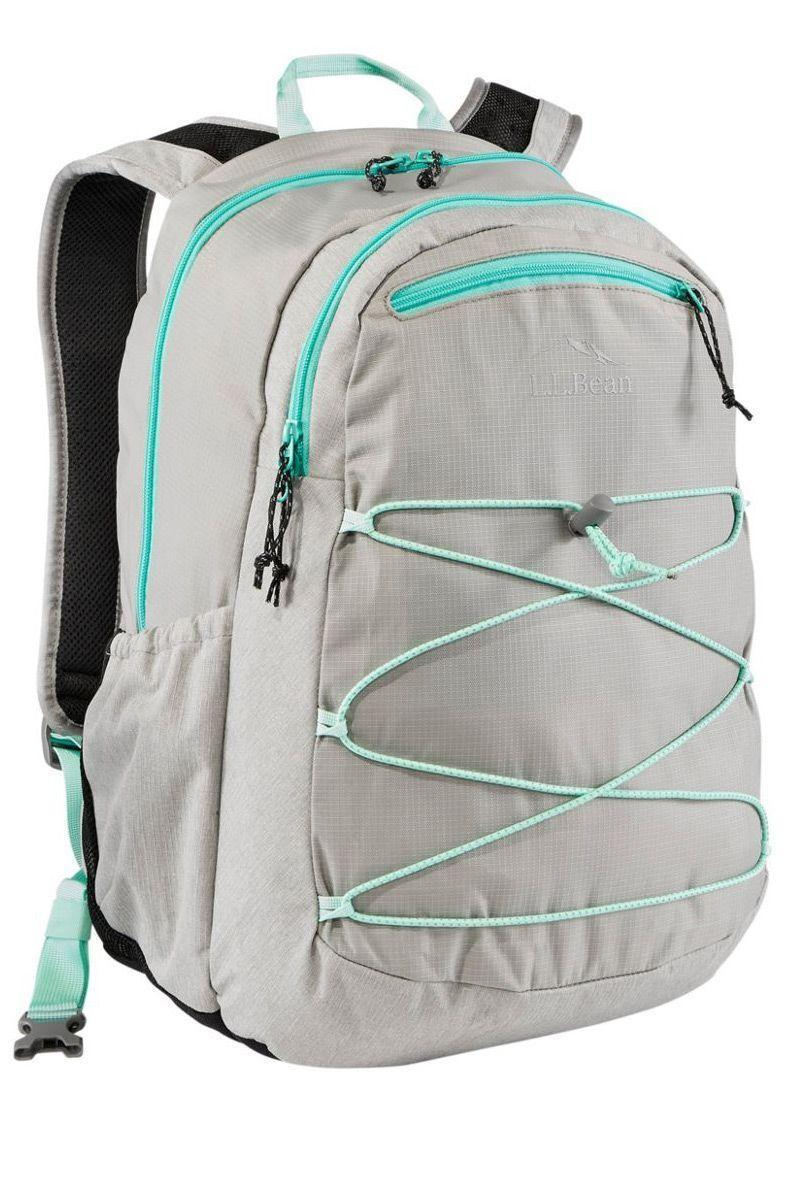 """<p><strong>L.L. Bean</strong></p><p>llbean.com</p><p><strong>$79.00</strong></p><p><a href=""""https://go.redirectingat.com?id=74968X1596630&url=https%3A%2F%2Fwww.llbean.com%2Fllb%2Fshop%2F124380&sref=https%3A%2F%2Fwww.goodhousekeeping.com%2Fclothing%2Fg27508273%2Fbest-college-backpacks%2F"""" rel=""""nofollow noopener"""" target=""""_blank"""" data-ylk=""""slk:Shop Now"""" class=""""link rapid-noclick-resp"""">Shop Now</a></p><p>With a huge 30L capacity, this backpack from L.L. Bean can hold your classwork as well as your gym clothes, water bottle, and laptop. Made with polyester and nylon, this backpack is designed to hold heavier loads with <strong>padded shoulder straps and back panel for extra comfort.</strong> We love the thoughtfully designed interior with a place for everything you'll need. Plus, it's available in eight shades!</p>"""