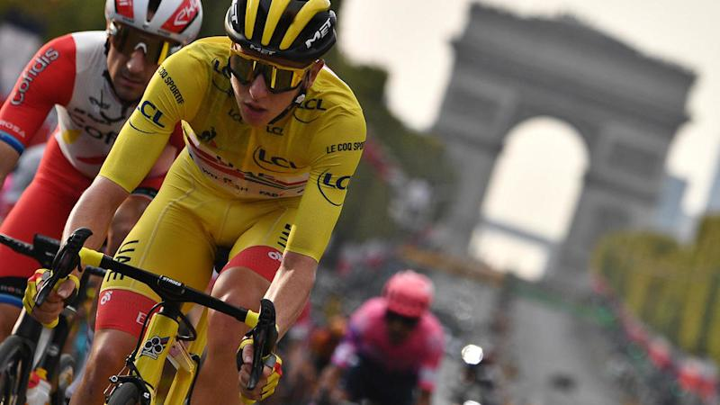 Pogacar finds Tour de France glory in old-fashioned antic of cycling fast