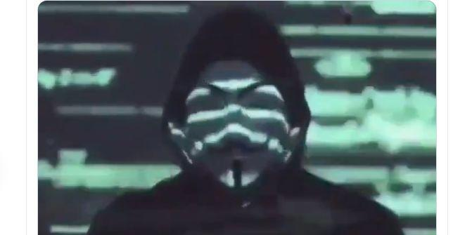 Captura del vídeo lanzado por Anonymous por el asesinato de George Floyd (Photo: TWITTER)