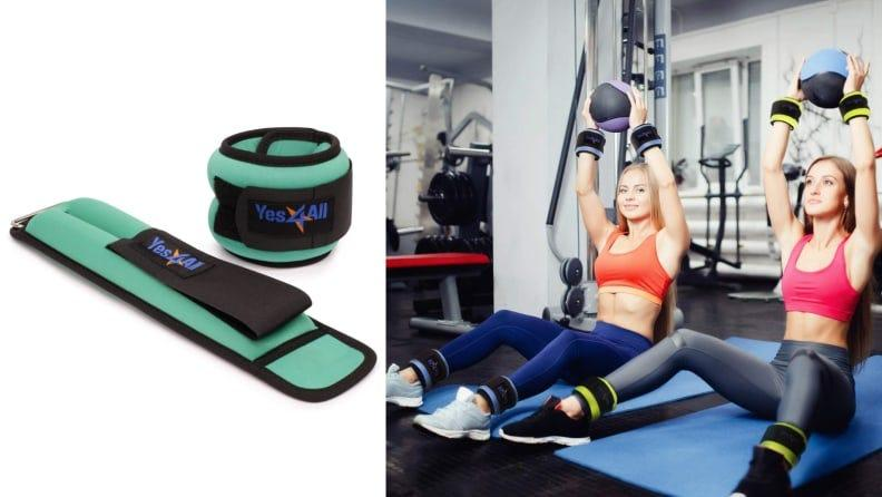 Choose from weights ranging from 1.5 to 5 pounds.