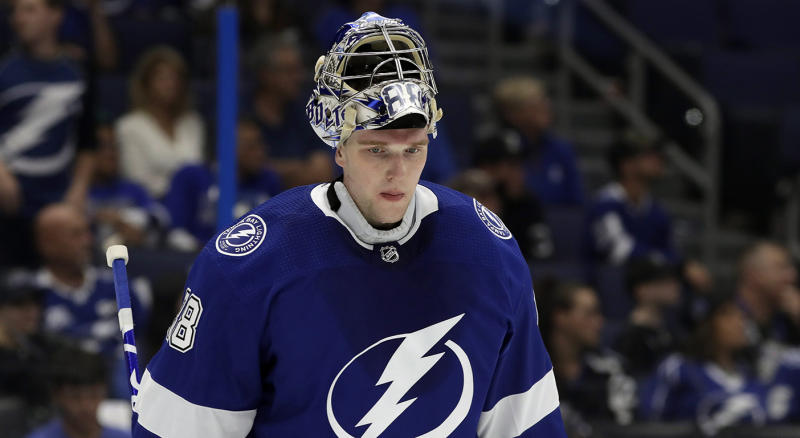 Vasilevskiy was rewarded with a handsome new contract. (AP Photo/Chris O'Meara)
