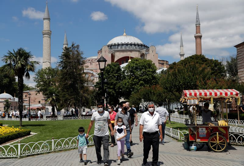 Turkey will inform UNESCO about Hagia Sophia moves: minister