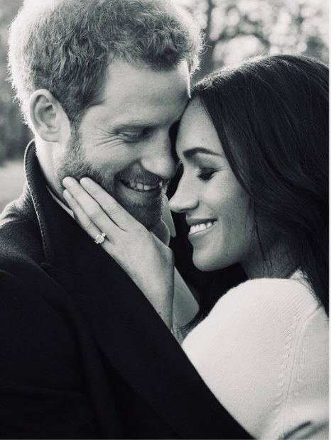 <em>Prince Harry and Meghan Markle's engagement photos by Alexi Lubomirski. [Photo: Getty]</em>