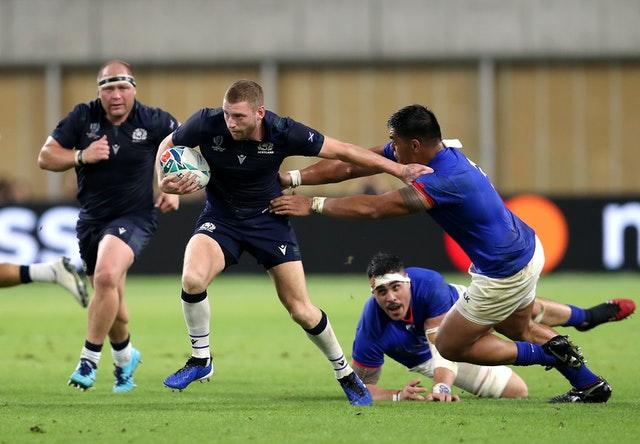 Finn Russell left the Scotland squad ahead of this season's Six Nations