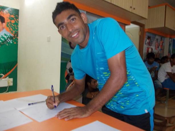 Dawson Fernandes (Picture Courtesy: Sporting Club De Goa)