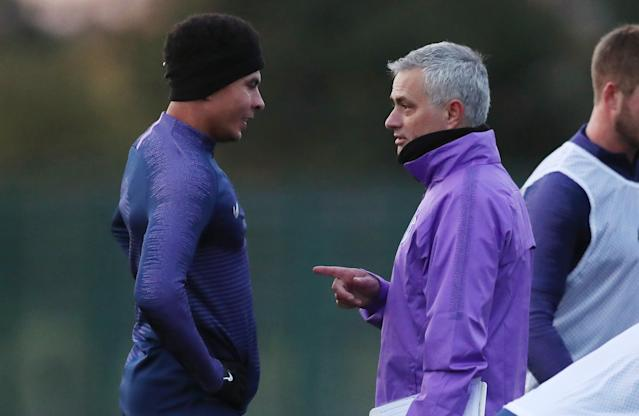 Dele Alli and Jose Mourinho (Credit: Getty Images)