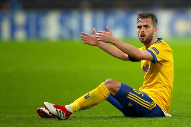 Juventus' Miralem Pjanic could move to Barcelona in a swap deal (Nick Potts/PA)