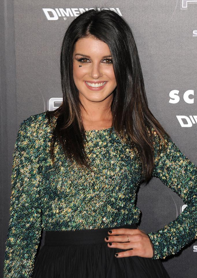"""<a href=""""http://movies.yahoo.com/movie/contributor/1810175318"""">Shenae Grimes</a>  She plays local resident Trudie and is rumored to be in the film's frightening opening scene."""