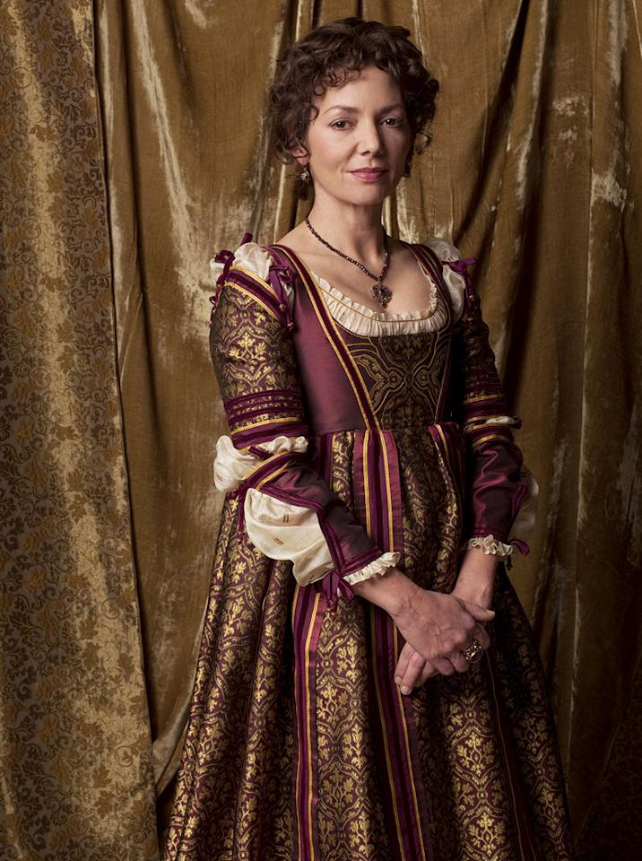 "Joanne Whalley as Vanozza dei Cattanei in ""The Borgias."""