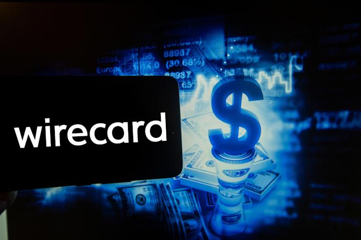 In this photo illustration is show the logo of german Fintech company Wirecard. Photo illustration: Alexander Pohl/NurPhoto via Getty Images