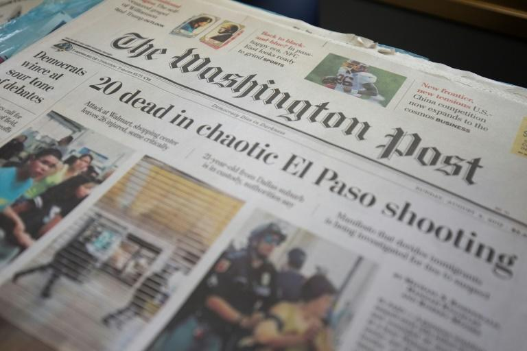 The Washington is among the news organizations whose content will be included on an aggregator being created by Rupert Murdoch's News Corp (AFP Photo/Alastair Pike)