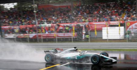 F1: Lewis Hamilton breaks Michael Schumacher's record with 69th pole at Monza