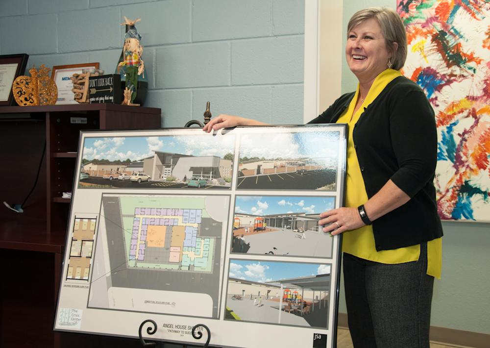 Karen Pieper Hildebrand now serves as the executive director of the Crisis Center of West Texas, an emergency shelter for domestic abuse victims. Her latest project is building a new $5 million shelter for victims.