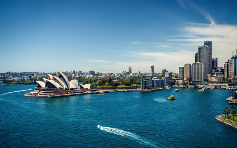 <p>We don't know about you but after seeing Harry and Meghan take Australia on their debut post-wedding tour, Sydney has been a permanent fixture on our to-do list. Maybe next year, eh? <em>[Photo: Getty]</em> </p>