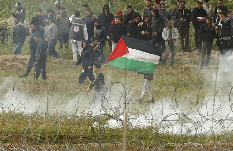 Weekly protests have rocked the Gaza border with Israel for nearly a year
