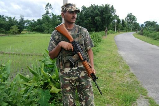 Gunmen attack busy market in northeast India