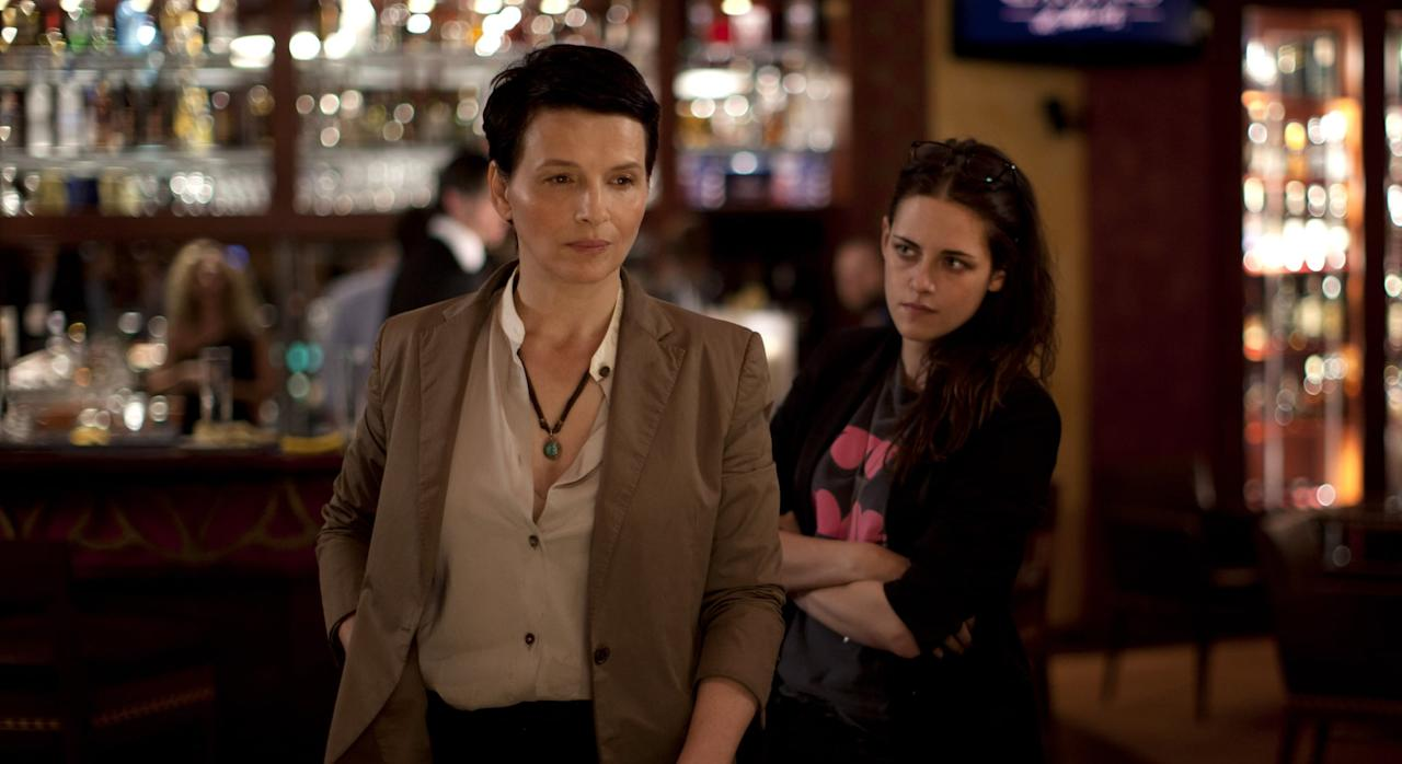 <ul> <li><strong>Clouds of Sils Maria</strong></li> </ul>