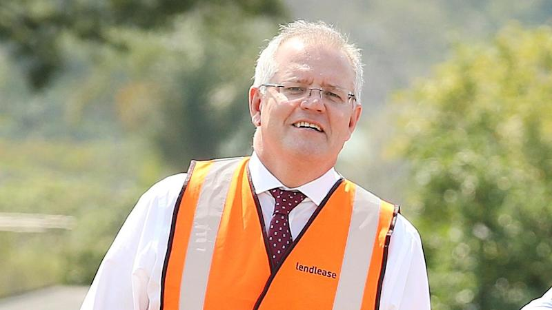Prime Minister Scott Morrison has brought forward spending on a raft of infrastructure projects