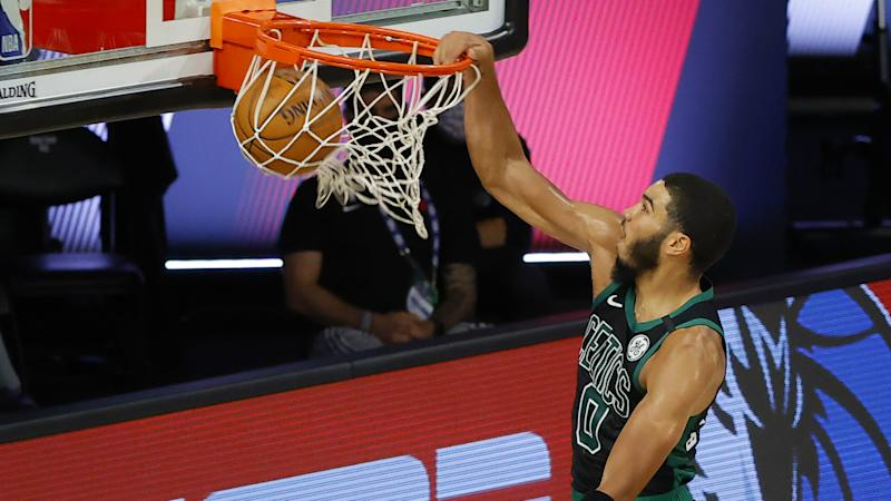Raptors coach Nick Nurse rips referees who 'took very good care of' Jayson Tatum in Game 2