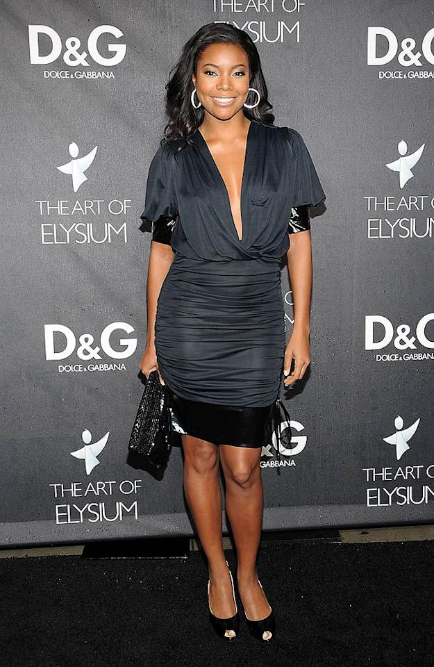 """As usual, Gabrielle Union looked flawless. Jordan Strauss/<a href=""""http://www.wireimage.com"""" target=""""new"""">WireImage.com</a> - December 15, 2008"""