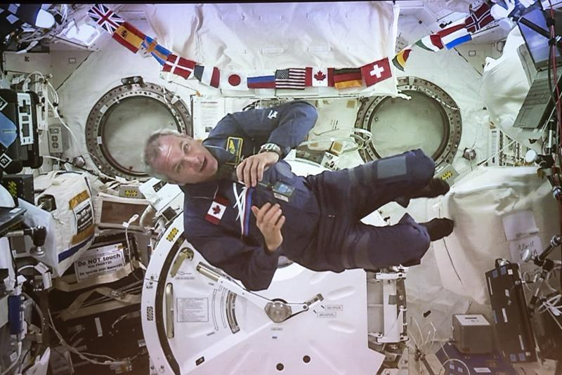 Astronauts on coping with COVID-19: plenty of routine, keep sight of big picture