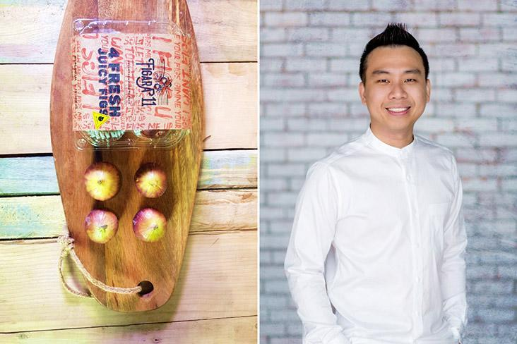 Figara11 co-founder Lawrence Yew believes it's crucial to get figs from farm to customers swiftly to retain the fruits' freshness.