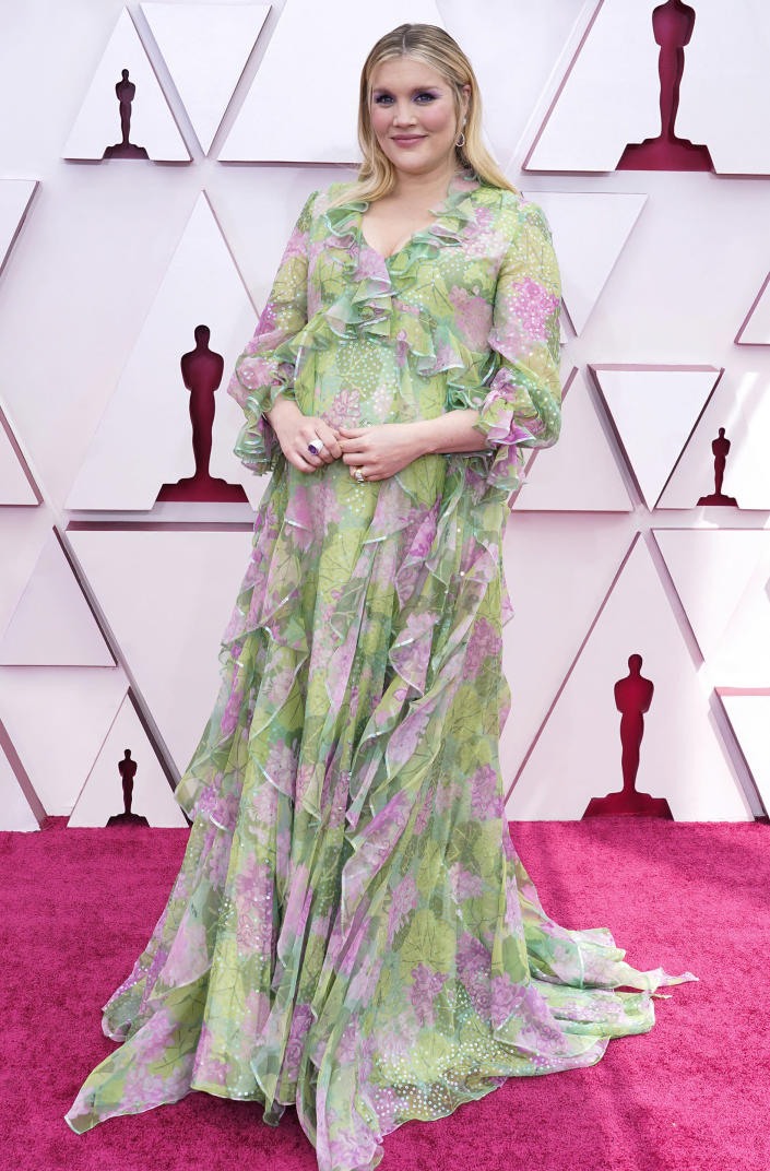 Emerald Fennell Oscars 2021 (Pool / Getty Images)
