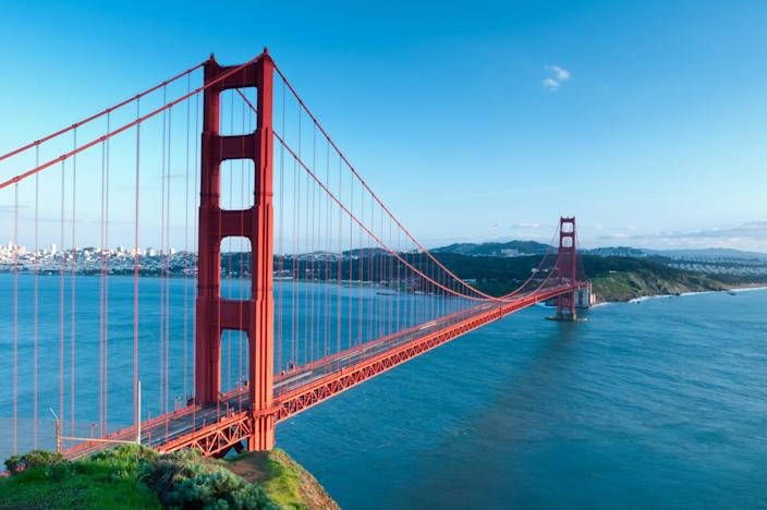 Among the most recognizable structures in the world, San Francisco's Golden Gate Bridge was completed in 1937. Conceived by architect Irving Morrow, the Art Deco-designed building was named one of the Wonders of the Modern World by the American Society of Civil Engineers.