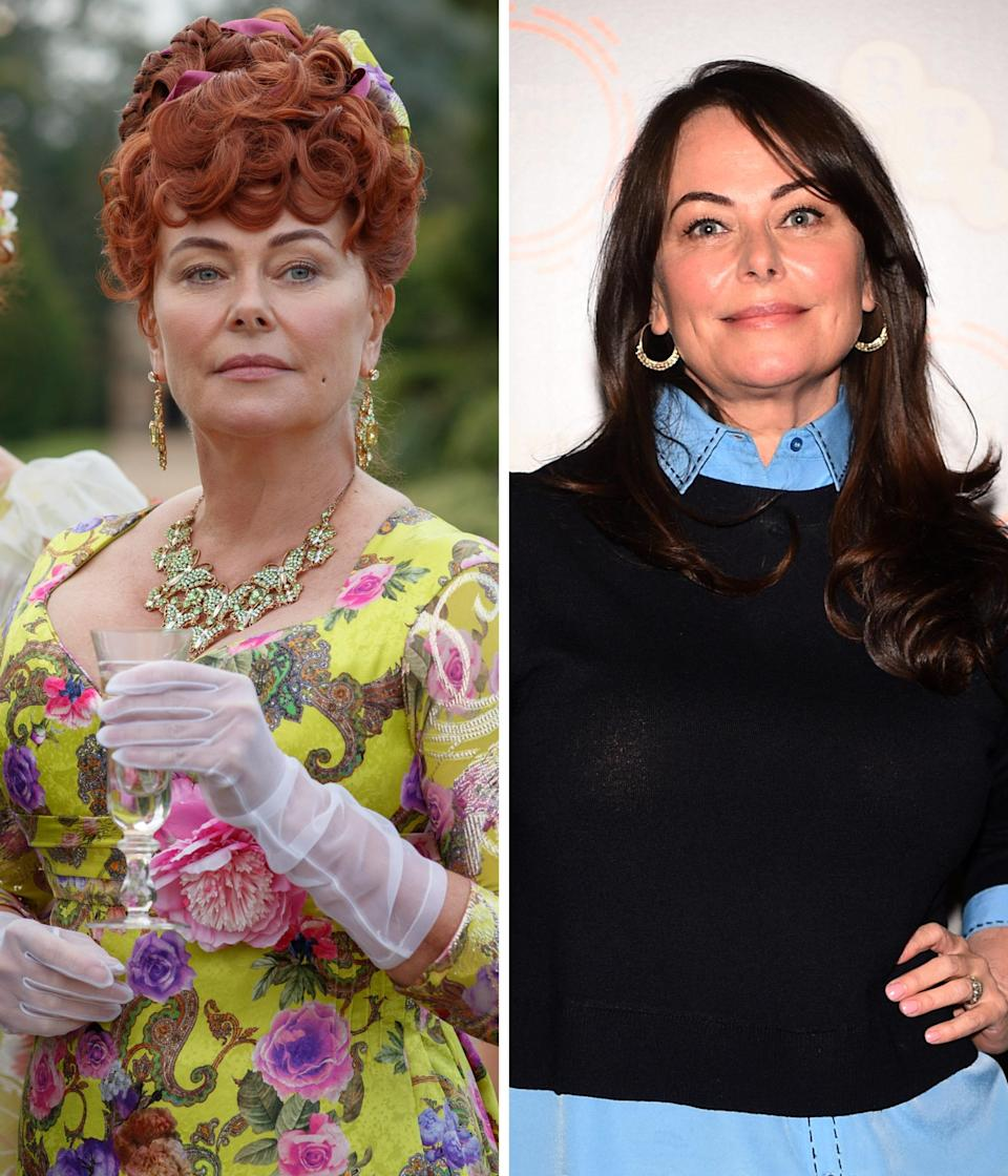 """""""She's the Kris Jenner of the period,"""" Golden Globe nominee Polly Walker <a href="""
