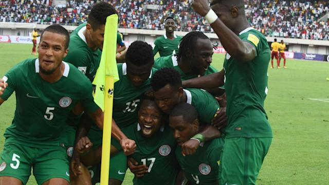 Gernot Rohr's men continued their build up for the World Cup with a morale-boosting victory against the White and Reds
