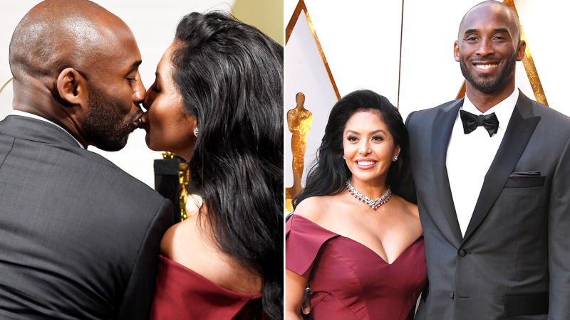Kobe and Vanessa Bryant, pictured here at the Oscars in 2019.