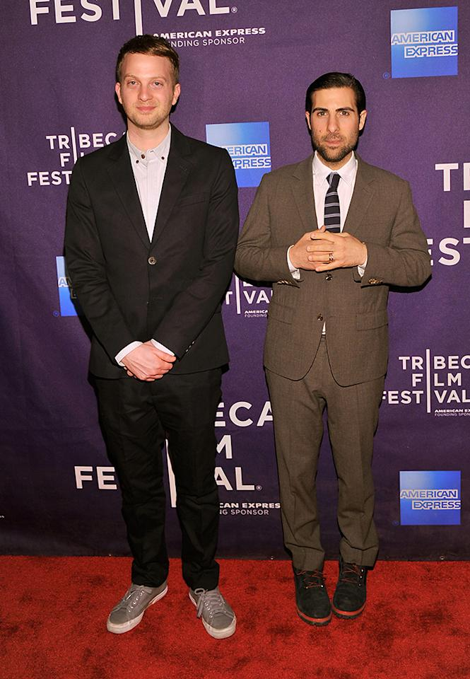 "NEW YORK, NY - APRIL 20:  Director Matt Wolf (L) and actor Jason Schwartzman attend the ""Teenage"" world premiere during the 2013 Tribeca Film Festival on April 20, 2013 in New York City.  (Photo by Stephen Lovekin/Getty Images for Tribeca Film Festival)"