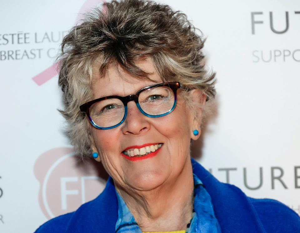 LONDON, ENGLAND - MARCH 09:  Prue Leith attends the Future Dreams International Women's Day Tea supported by Estee Lauder at The Arts Club on March 9, 2020 in London, England.  (Photo by David M. Benett/Dave Benett/Getty Images)