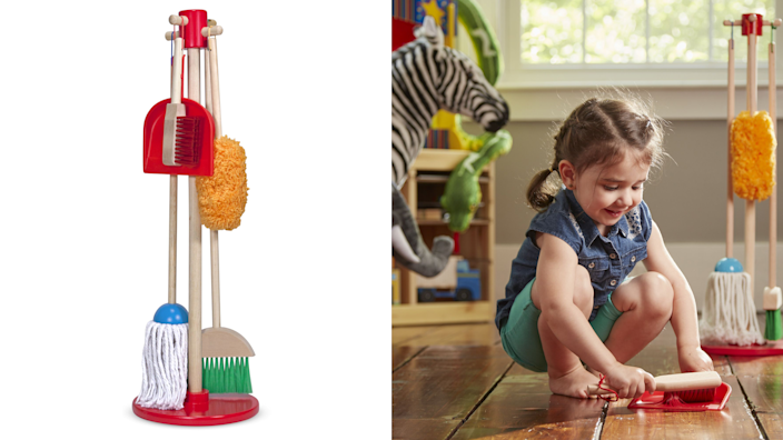 Gifts for kids: Melissa & Doug Sweep! Dust! Mop!