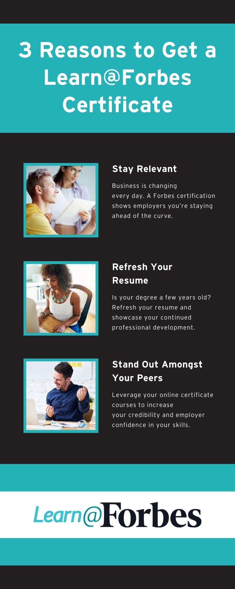 3 Reasons to Get a Learn@Forbes Certificate