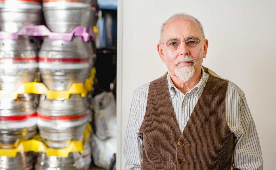 <p>Brewer Ian Fozard has seen business halved in a month as cases have risen</p>Ian Fozard