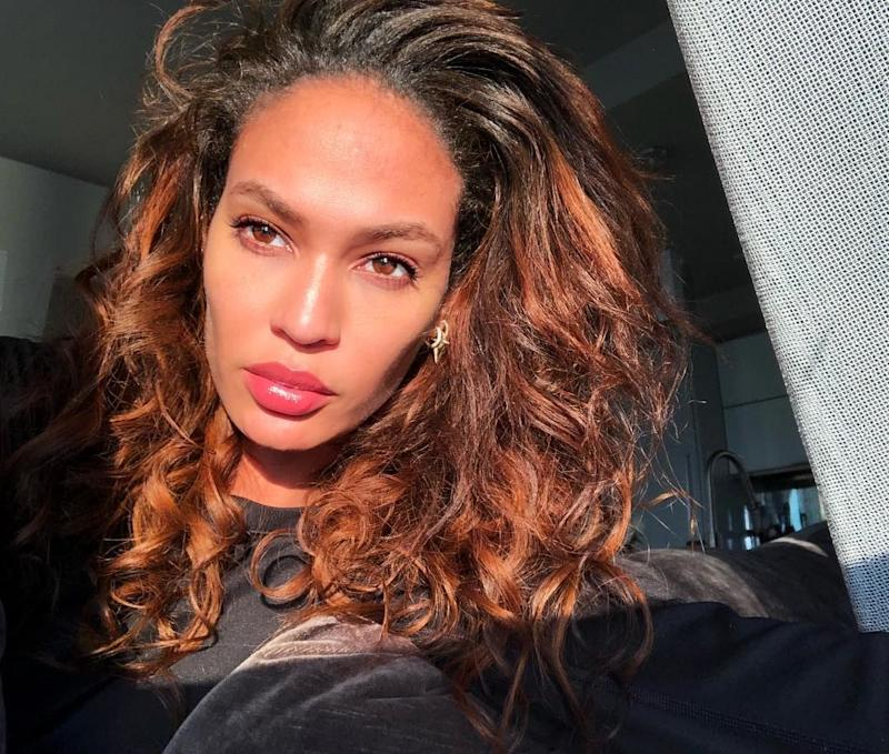 Joan Smalls sports glowing skin. Photo courtesy of Instagram.