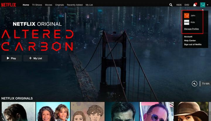 How to delete a Netflix profile from your account on any device