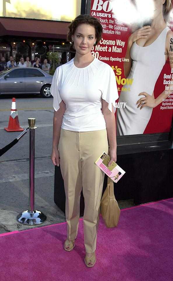 """3. <a href=""""http://movies.yahoo.com/movie/1804857429/info"""">Legally Blonde</a> L.A. premiere (2001)   You may be able get past her mature mane and troublesome top (and, we won't blame you if you can't), but you certainly won't be able to deal with these catastrophic khakis."""