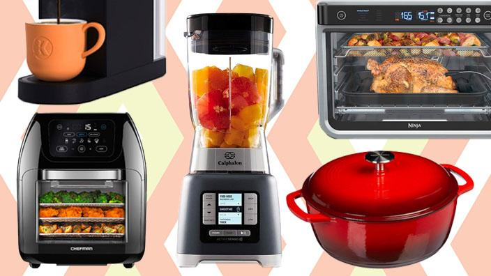The Prime Day 2021 kitchen deals are here, and they include Ninja, Instant Pot, Le Creuset and more. (Photo: Amazon/Getty)