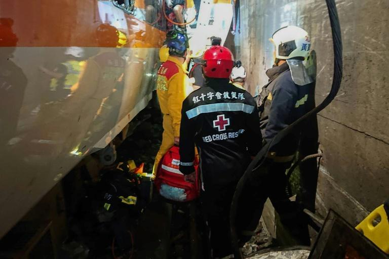 Passengers gave harrowing testimony of making their way out of the train, half of which was lodged inside the narrow tunnel
