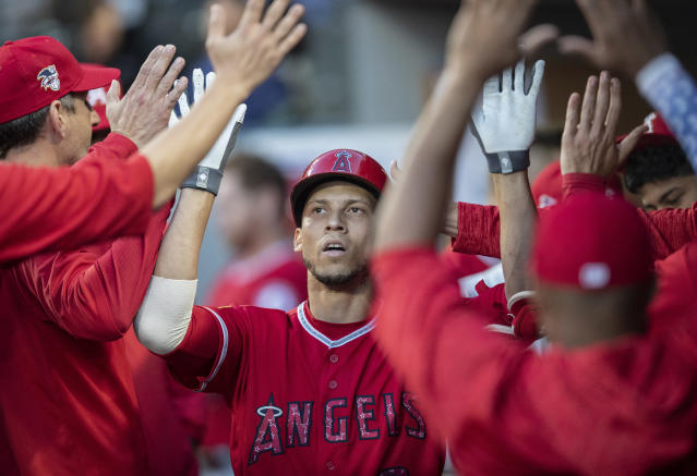 Los Angeles Angels' Andrelton Simmons could still make the game. (AP Photo)