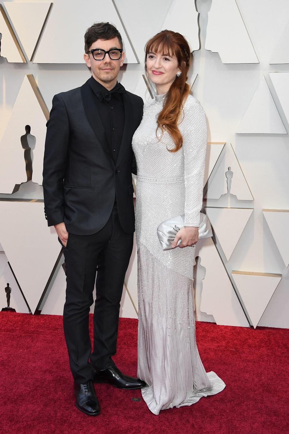 Marielle Heller and Jorma Taccone
