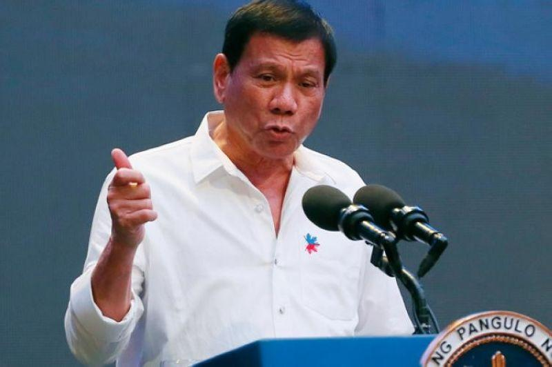 Duterte warns Robredo against sharing classified info