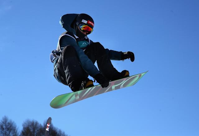 Tit Stante joined the battle to free rapper Meek Mill on Tuesday in PyeongChang, South Korea. (Getty Images)