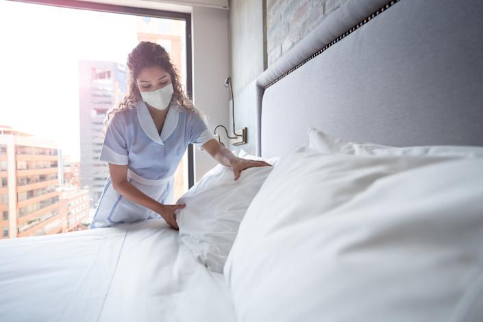 """""""You want to make sure you understand what the cleaning, disinfection and infection prevention policies are for the facility and what they types of precautions they are taking,"""" Kuppalli said. (Photo: Hispanolistic via Getty Images)"""