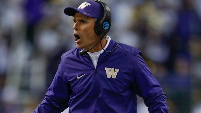 Petersen, 27-14 in three years in Seattle, will make $4.875M per year, which is believed to push him past Stanford's David Shaw.