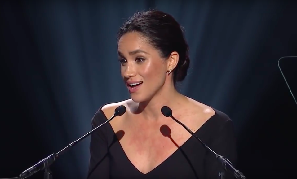 <p>Despite her royal-in-waiting status, Meghan has not only delivered a major UN Women speech, she's also expressed her views on British politics. As a feminist and philanthropist, we don't think she'll keep quiet even after she's married. And indeed in her engagement interview yesterday, she hinted she would continue to use her voice to speak up about subjects that matter to her.<br><em>[Photo: YouTube]</em> </p>